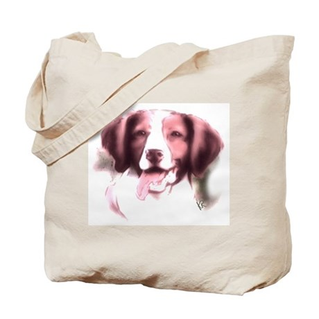 brittany portrait Tote Bag