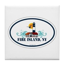 Fire Island Tile Coaster