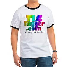TLCTugger.com rainbow logo T