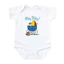MAY BABY! (in stroller) Infant Bodysuit