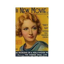 Marlene Dietrich 1931 Rectangle Magnet