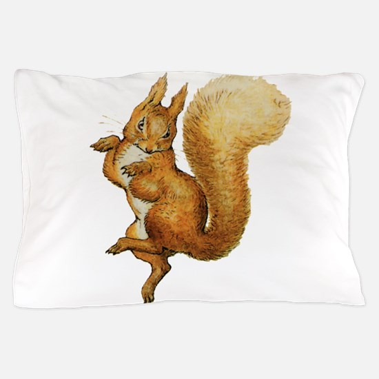 Squirrel Nutkin Pillow Case