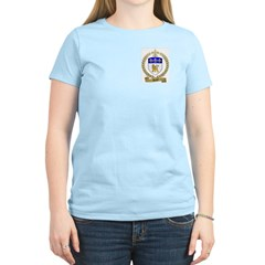 AMYOT Family Crest Women's Pink T-Shirt