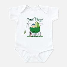 JUNE BABY! (in stroller) Infant Bodysuit