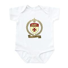 ASSELIN Family Crest Infant Creeper