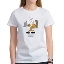 This mom blogs Tee