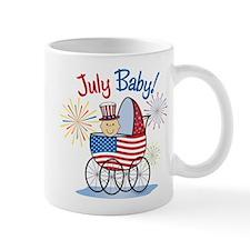 JULY BABY! (in stroller) Mug
