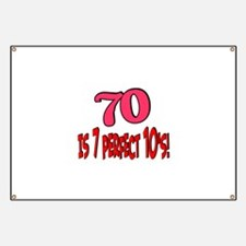 70 is 7 perfect 10's Banner