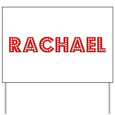 Retro Rachael (Red) Yard Sign
