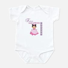 Future Scrapbook Layout (Asian) Infant Bodysuit