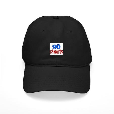 90 is 9 perfect 10's Black Cap