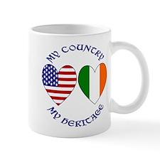 Irish / USA Heritage Left Mug