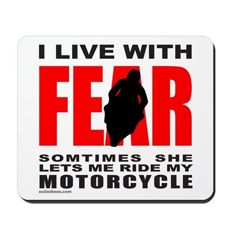 MOTORCYCLE/BIKER Mousepad