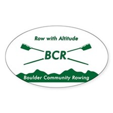 BCR Oval Decal