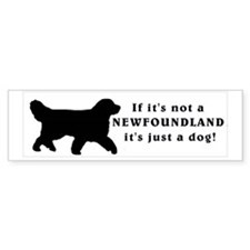 If It's Not a Newfoundland It's Just a Dog