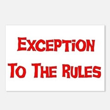 Exception To Rules Postcards (Package of 8)