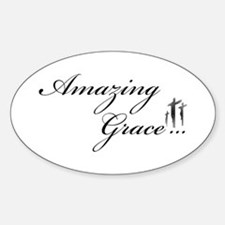 Amazing Grace Oval Decal