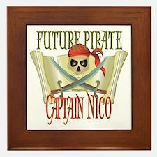 Captain Nico Framed Tile