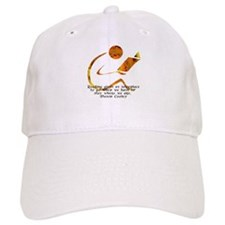 Reader - Golden Quote Baseball Baseball Cap
