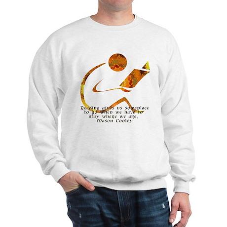 Reader - Golden Quote Sweatshirt