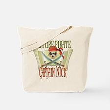 Captain Nick Tote Bag