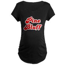 Retro Pine Bluff (Red) T-Shirt