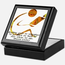 Reader - Golden Quote Keepsake Box