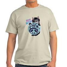 Kittens For Peace Anti-war T-Shirt