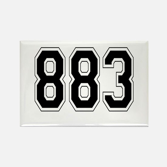 883 Rectangle Magnet