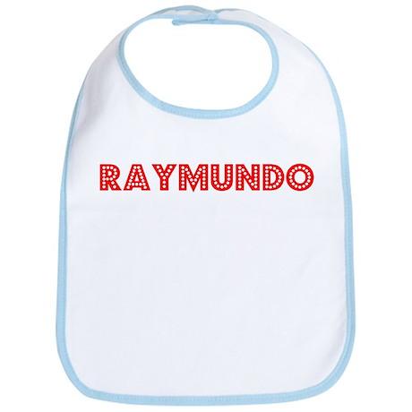 Retro Raymundo (Red) Bib