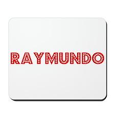 Retro Raymundo (Red) Mousepad