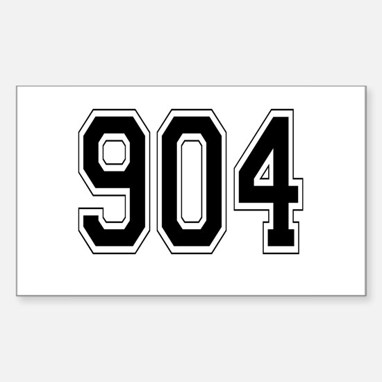 904 Rectangle Decal