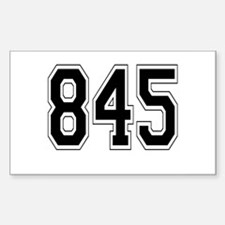845 Rectangle Decal