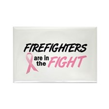 Firefighters In The Fight Rectangle Magnet