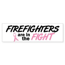 Firefighters In The Fight Bumper Bumper Sticker