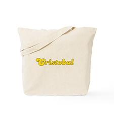 Retro Cristobal (Gold) Tote Bag