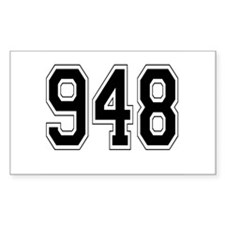 948 Rectangle Decal