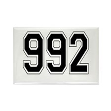 992 Rectangle Magnet