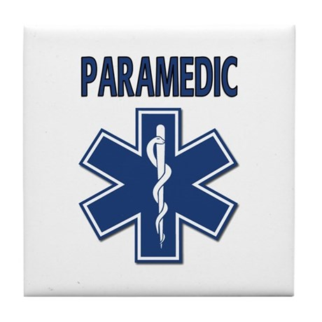 Paramedic EMS Tile Coaster