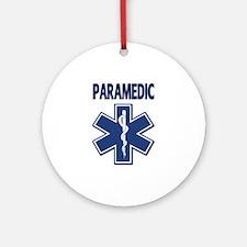 Paramedic EMS Ornament (Round)