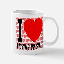 I Love Picking Up Girls! Mug