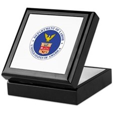 DEPARTMENT-OF-LABOR-SEAL Tile Box
