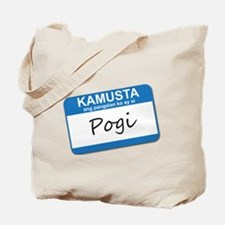Kamusta... Pogi Tote Bag