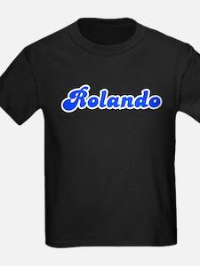 Retro Rolando (Blue) T