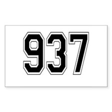 937 Rectangle Decal