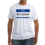 Vitaliy Fitted T-Shirt