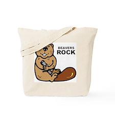 Beavers Rock Tote Bag