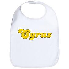 Retro Cyrus (Gold) Bib