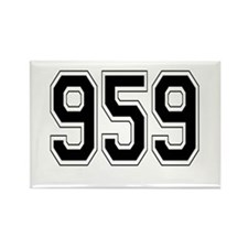 959 Rectangle Magnet