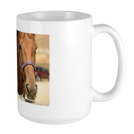 Brown Horse Large Mug